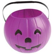 Purple Pumpkin Bucket