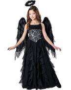 Dark Fallen Angel Girls Halloween Costume