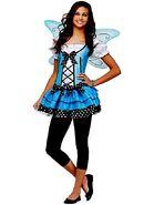 Blue Belle Fairy Costume For Teens