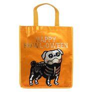 Reflective Trick-or-Treat Skeletal Dog Bag
