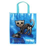 Reflective Trick-or-Treat Skeletal Cat Bag