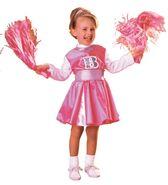 Barbie Cheerleader Toddler Costume