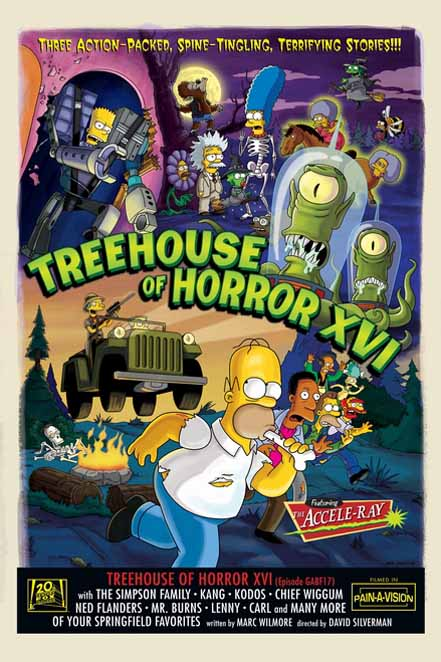 The Simpsons: Treehouse of Horror XVI