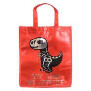 Reflective Trick-or-Treat Skeletal Dinosaur Bag