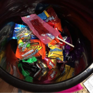 My Candy from Halloween 2016
