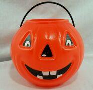 Halloween-Vintage-Pumpkin-Jack-O-Lantern-Pail-Bucket