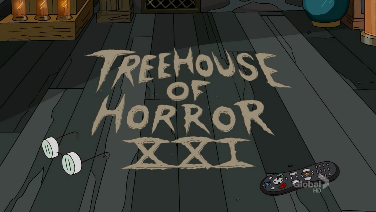 The Simpsons: Treehouse of Horror XXI