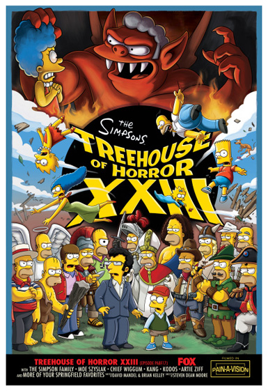 The Simpsons: Treehouse of Horror XXIII