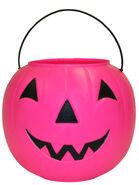 General Foam Plastics Pink Pumpkin Halloween Trick-or-Treat Paul