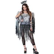 Teen Girls Dark Angel Costume