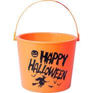 Light-Up Happy Halloween Treat Bucket