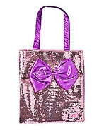 JoJo Siwa Sequin Bow Tote Bag
