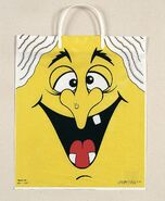 Witch Face Trick-or-Treat Bag