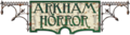 Arkham Horror logo