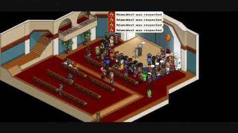 AdamWest On Habbo! (Song One Short Day-Broadway Cast of Wicked)