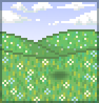 Background rolling hills