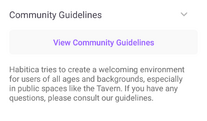 Tavern community guidelines.png