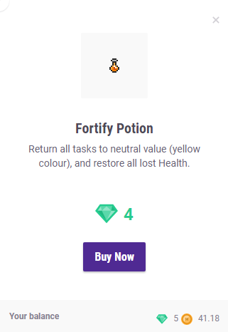 Fortify Potion