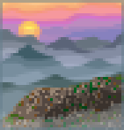 Background mist shrouded mountain.png