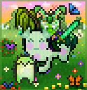 @AlphaWolf54 - Green (Favorite Color 2021)