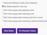 Fix Character Values