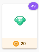 The option to buy gems with gold appears in the Market after subscribing.