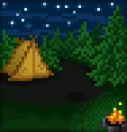 Background camping out