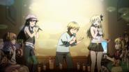 7-Sena, Kodaka and Yozora in Karoke