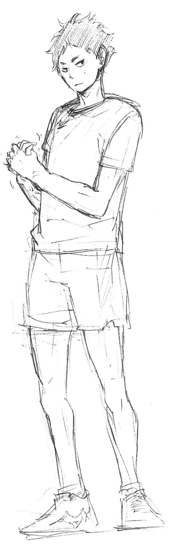 Keiji Akaashi Sketch.png