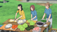 Managers preparing food S2 E11