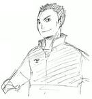 Manabu Naoi Sketch