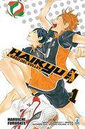 Haikyu!! L'asso del volley 1 cover