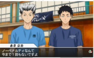 Akaashi and Bokuto