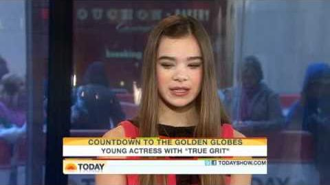 Hailee on The Today Show