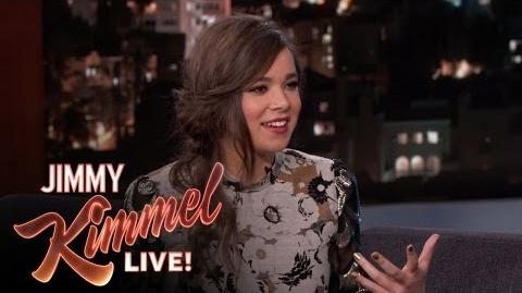 Hailee Steinfeld on Singing in Pitch Perfect 2