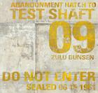 Test shaft 09 signage