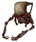 Fast zombie torso