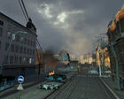 City 17 ruined street tracks
