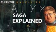 Half-life Saga, Universe, All Episodes Explained; Theories & Backstory, G-man Hypothesis, Timeline