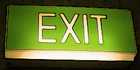 Glados screens sign exit