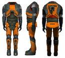 HEV Suit HL2 beta sides