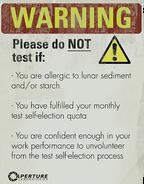 Underground warning whitegel