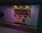 Gearbox emergency override