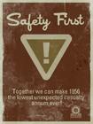 Underground safetyfirst