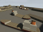 Coastline prison ships
