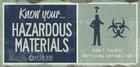 Underground knowyour hazardmaterials