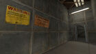 Notices in Corridor Test Shatf 09 Portal 2