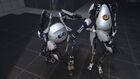 Portal2 robots elbowing