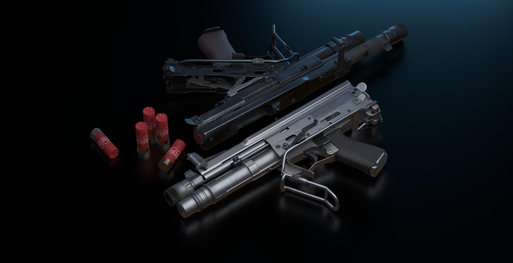 Combine Shotgun