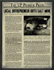 Underground trophycase newspaper